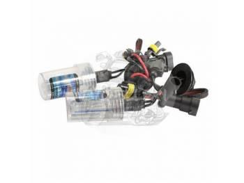 Лампочки ксенона Н4 2011 8000K железный цокль (комплект 2шт) 2154