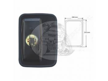 Зеркало заднего вида (310mmX230mm/диаметр крепления - 18mm) крепление болт универсальное SL-1610 B