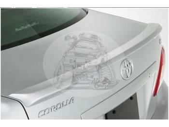 Спойлер крышки багажника TOYOTA COROLLA AXIO #ZE14# 06-12 белый 1693