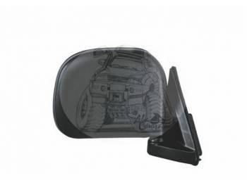 Зеркало заднего вида (170mmX200mm/штатное крепление) штатное крепление левое Toyota HIACE SL-616L