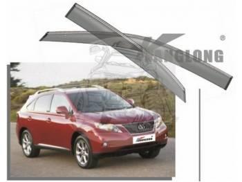 Ветровики KANGLONG LEXUS RX270/RX350/RX450H 09- 826