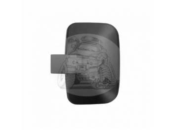 Зеркало заднего вида (300mmX200mm/диаметр крепления - 23mm) крепление хомут Mitsubishii Canter SL-668