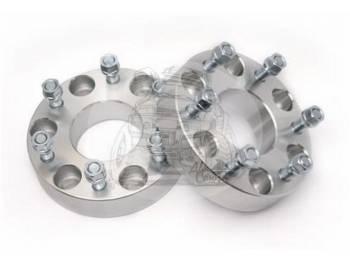 Проставка ступичная УАЗ Профи 6X139,7mm (6-5.5) алюминий (1шт) (толщина: 30мм, центральное отверстие 108mm, резьба на шпильках: 1.5) 6X139,7