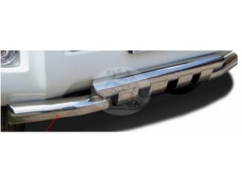 Защита переднего бампера (дуга) TOYOTA LAND CRUISER PRADO 120 (2003-2009) с зубами 0459 TY0503AJ1