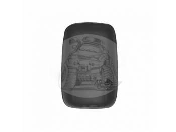 Зеркало заднего вида (280mmX183mm/диаметр крепления - 30mm) крепление под шар MAZDA TITAN/ISUZU ELF SL-711L