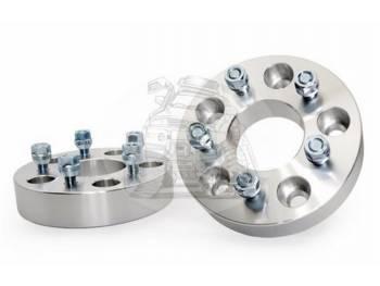 Проставка ступичная 5X150mm (5-5.9) (1шт) алюминий (толщина: 25мм, центральное отверстие 67,1mm, резьба на шпильках: 1.5) 5X150