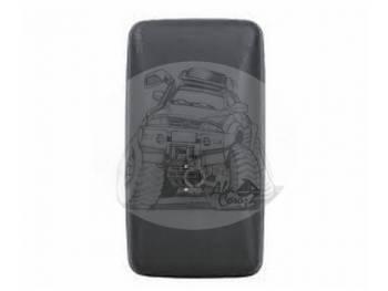 Зеркало заднего вида (308mmX168mm/диаметр крепления - 18mm) крепление под шар  Mazda Titan Mitsubishii Canter SL-978