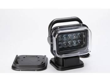 Фара-искатель CH001 50W LED 10 диодов по 5W с дистанционным управлением Черный ( габаритные размеры 200*240*200мм)