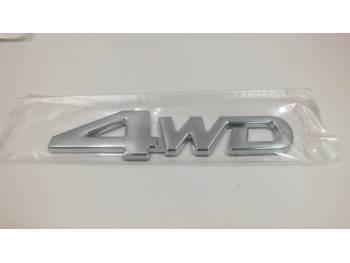 Наклейка декоративная 4WD