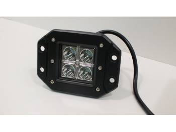 Фара светодиодная CH039 16W 4 диодов по 4W врезная