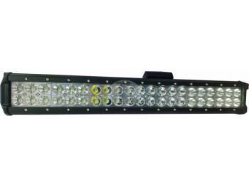 Фара светодиодная CH019B 126W Cree 42 диода по 3W (24 диода ближнего света + 18 диодов дальнего света габаритные размеры 65*80*505мм цветовая температура 6000K свет комбинированный)