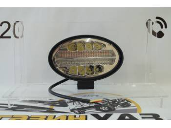 Фара светодиодная LBS1998 144 Вт со стробоскопом