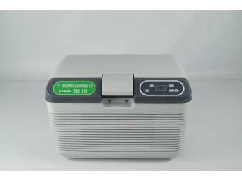 Термоэлектрический холодильник 12 литров, пластиковый (размеры камеры 350*175*200мм)