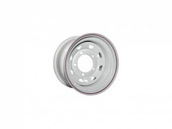 Диск колес Р15 Нива OFF-ROAD ET+25 5х139,7 7хR15 d98,5 серебро треуг