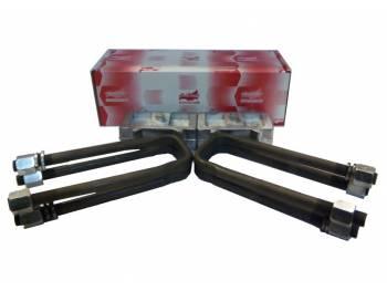 Комплект для лифта (рессора/мост) 40 мм алюминий УАЗ Хантер, Патриот 4-х лист