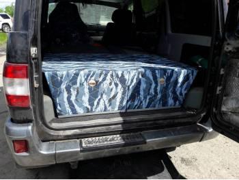 Органайзер на металлокаркасе в багажное отделение УАЗ Патриот