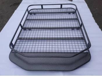 Багажник на УАЗ Патриот ТРАПЕЦИЯ с площадкой под светодиодную балку