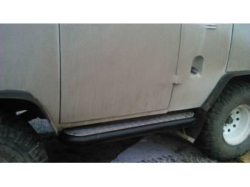 Пороги силовые Аллигатор на УАЗ 452