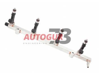 Топливопровод УАЗ дв. ЗМЗ 409 Евро-3 с форсунками