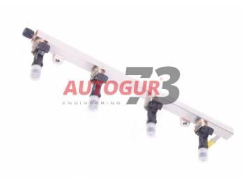 Топливопровод УАЗ дв. ЗМЗ 409 Евро-4 с форсунками