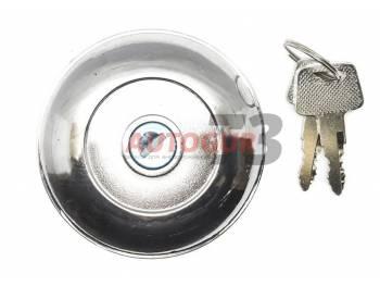 Крышка (пробка) бензобака топливного (хром) с замком УАЗ 452 Буханка