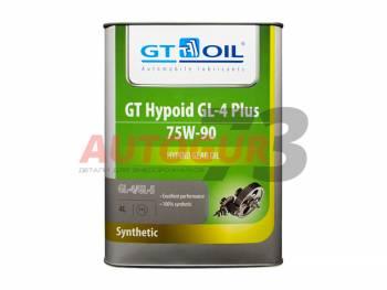 Трансмиссионное масло для МКПП синтетическое GT Hypoid GL-4 PLUS 75W-90 (4 л)