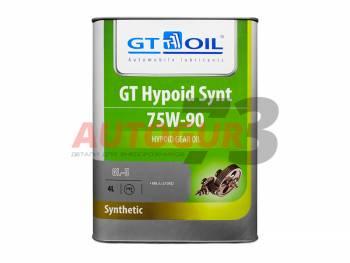 Трансмиссионное масло для МКПП синтетическое GT Hypoid Synt SAE 75W-90 (4 л)