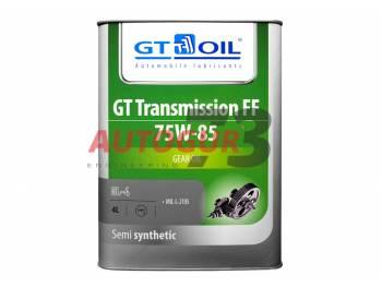 Трансмиссионное масло для МКПП и РК полусинтетическое GT Transmission FF SAE 75W-85 GL-4 4 л