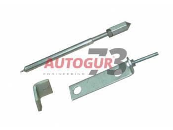 Установочный комплект насоса ГУР УАЗ дв.УМЗ-421 (опора, натяжитель, уголок) Autogur73