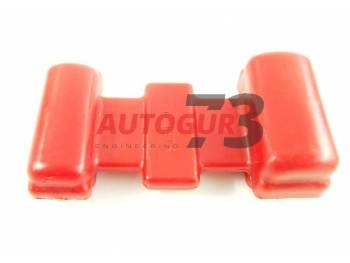 Подушка рессоры УАЗ 452 (полиуретан) твердая 65 (красная) redBTR