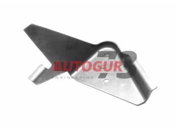 Кронштейн амортизатора передней подвески УАЗ Патриот правый (рама) Autogur73