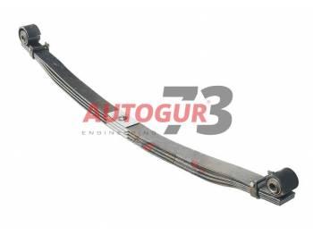 Рессора УАЗ 3163 Пикап задняя с шарнирами (4 листа)