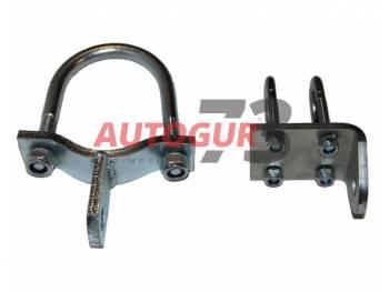 Крепление демпфера шток-ухо на мост-короткая тяга Autogur73