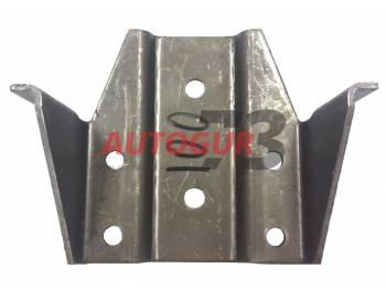 Опора кронштейна серьги УАЗ 469 задней рессоры правая Autogur73