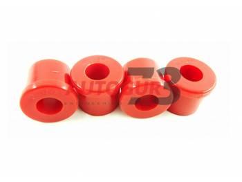 Втулка рессоры УАЗ 469 (полиуретан) Тв 65 красная (4 шт) redBTR