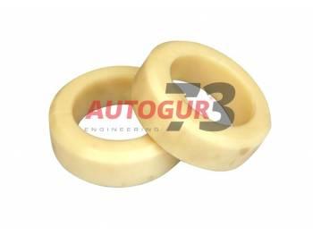 Комплект проставок под пружину УАЗ Хантер, Патриот для лифта 40 мм (капролон) Autogur73