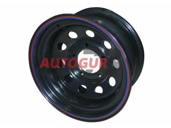 Диск колесный стальной УАЗ R16 OFF-ROAD Wheels 1680-53910 BL -19 А 08 (черный)