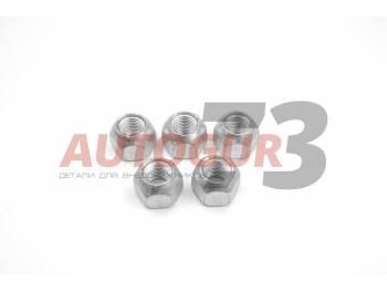 Гайки М14*1,5 колесные УАЗ 452 Буханка, 469, Хантер (для штампованного диска) (H=18.5 мм) 5 штук MetalPart