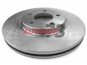 Диск тормозной передний Chevrolet Cruze/Opel Astra, Zafira d300 мм