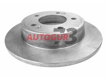 Диск тормозной задний Hyundai Creta, Elantra/KIA Ceed, SOUL d262 мм
