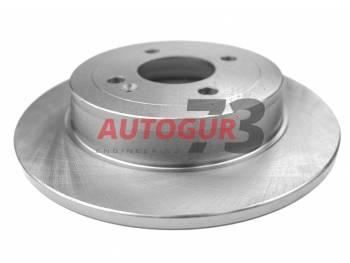 Диск тормозной задний Hyundai Solaris/Accent d262 мм