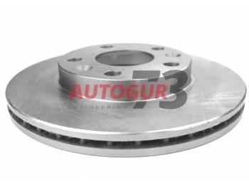 Диск тормозной передний Renault Duster, Fluence, Laguna, Megane d269 мм