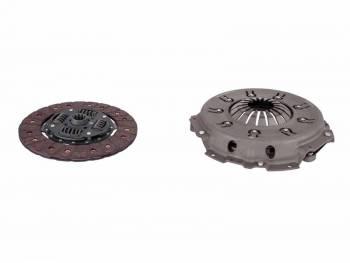 Комплект Сцепления (без муфты сцепления) УАЗ дв. ЗМЗ-409 КПП DYMOS (Корея) 5 ступ. тонкий вал (диск ведомый 2-х демпферный) аналог LUK 624318609 в сборе STARCO