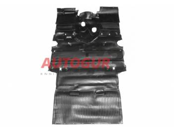 Коврик (покрытие) салона пола с багажником УАЗ 469, 3151, Хантер 4-х ст. КПП (полиуретан) завод