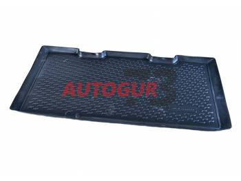 Коврик в багажник УАЗ Хантер полиуретановый Петропласт