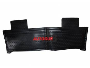 Коврик салона задний полиуретановый цельный УАЗ Патриот с 2014 (1 шт) Novline
