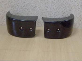 Накладки бампера Хантер задние (31514-2804059(58) АБС