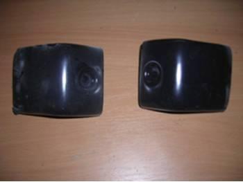Накладки заднего бампера внутренние УАЗ-Хантер (31514-2804071-10\70-10) АБС