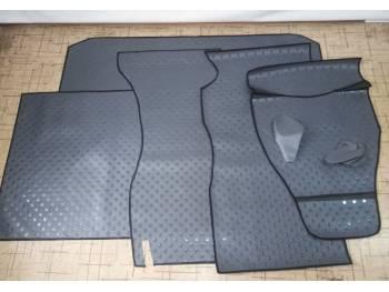 Покрытие пола с багажным отсеком (автолин) к-т на УАЗ Хантер, КПП АДС