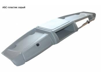 Полка верхняя «Мираж»  с двумя ящиками  под магнитофон  серого цвета УАЗ 452